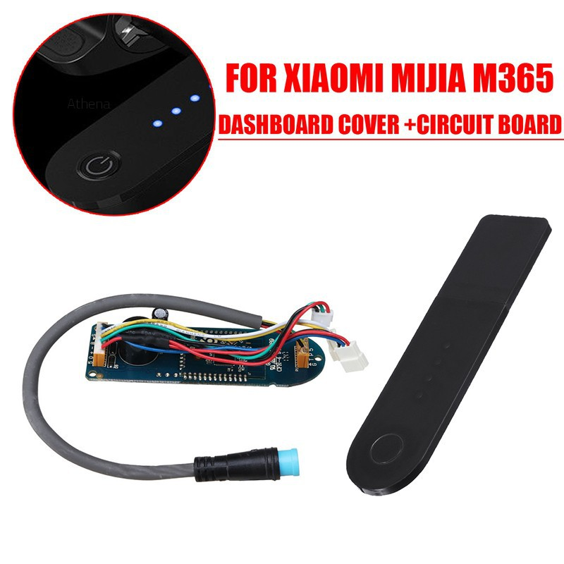 💗Athena💗Circuit Board + Dashboard Cover For Xiaomi MIJIA M365 Electric  Scooter