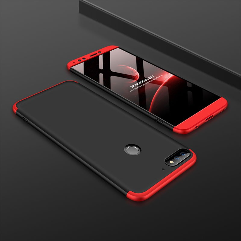 GKK 3 in 1 Case for Huawei Nova 2 Lite Case Full Coverage Matte Phone Cover