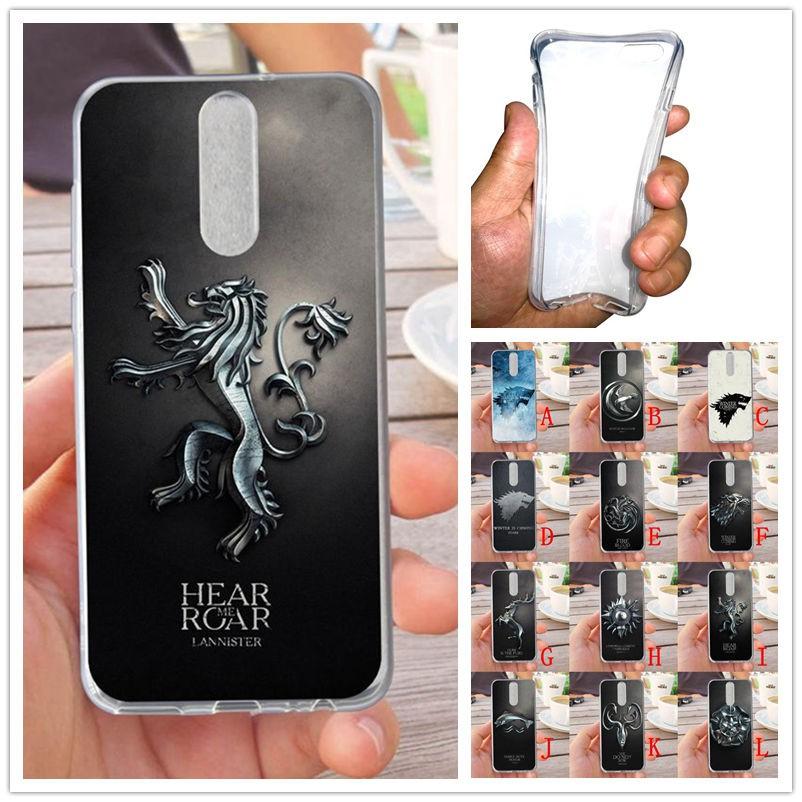 For Huawei Nova 2i/Mate 10 Lite Lion Soft Silicon Case