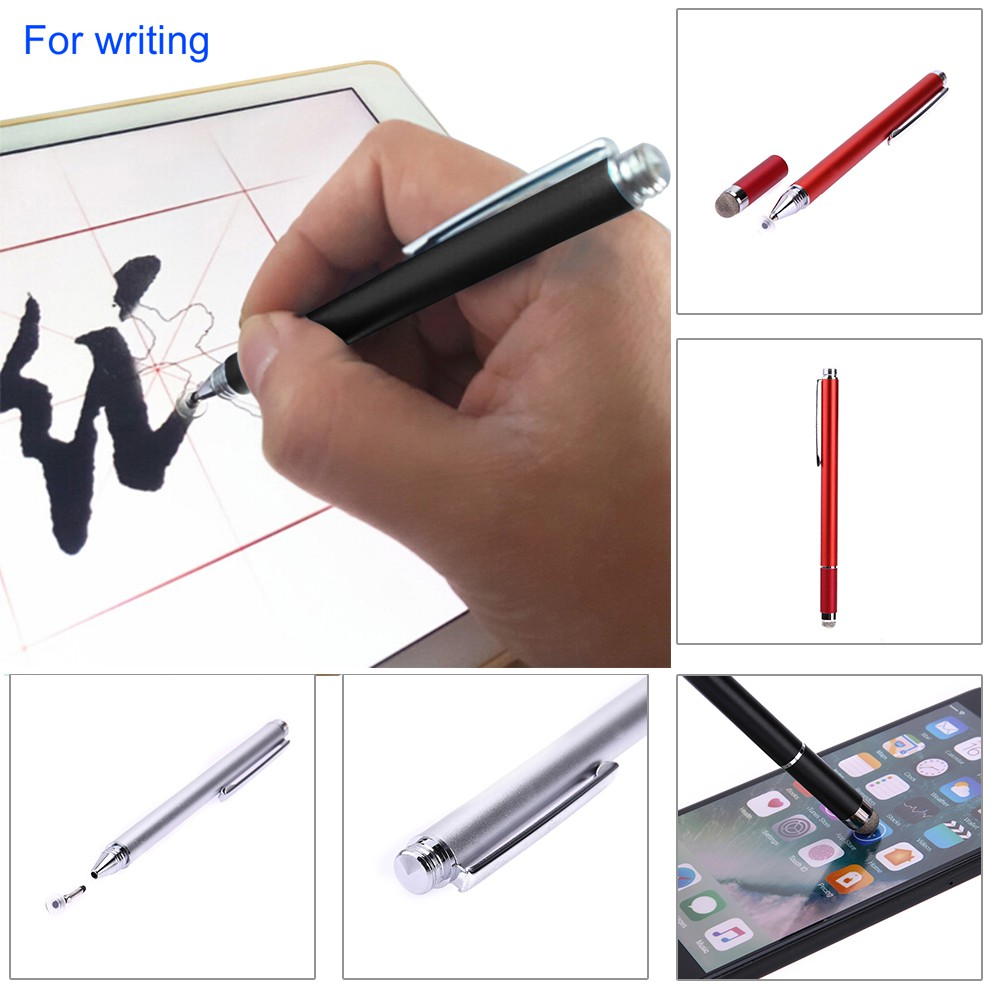 RETRACTABLE STYLUS 30pin PEN TOUCH SCREEN FOR IPHONE 3G 3GS 4 4S IPAD 3 2 1 RED
