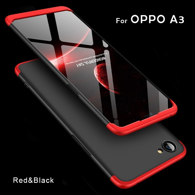 watch 61969 2c306 OPPO A3 360 Degree Full Protective Matte Hard PC Case Cover