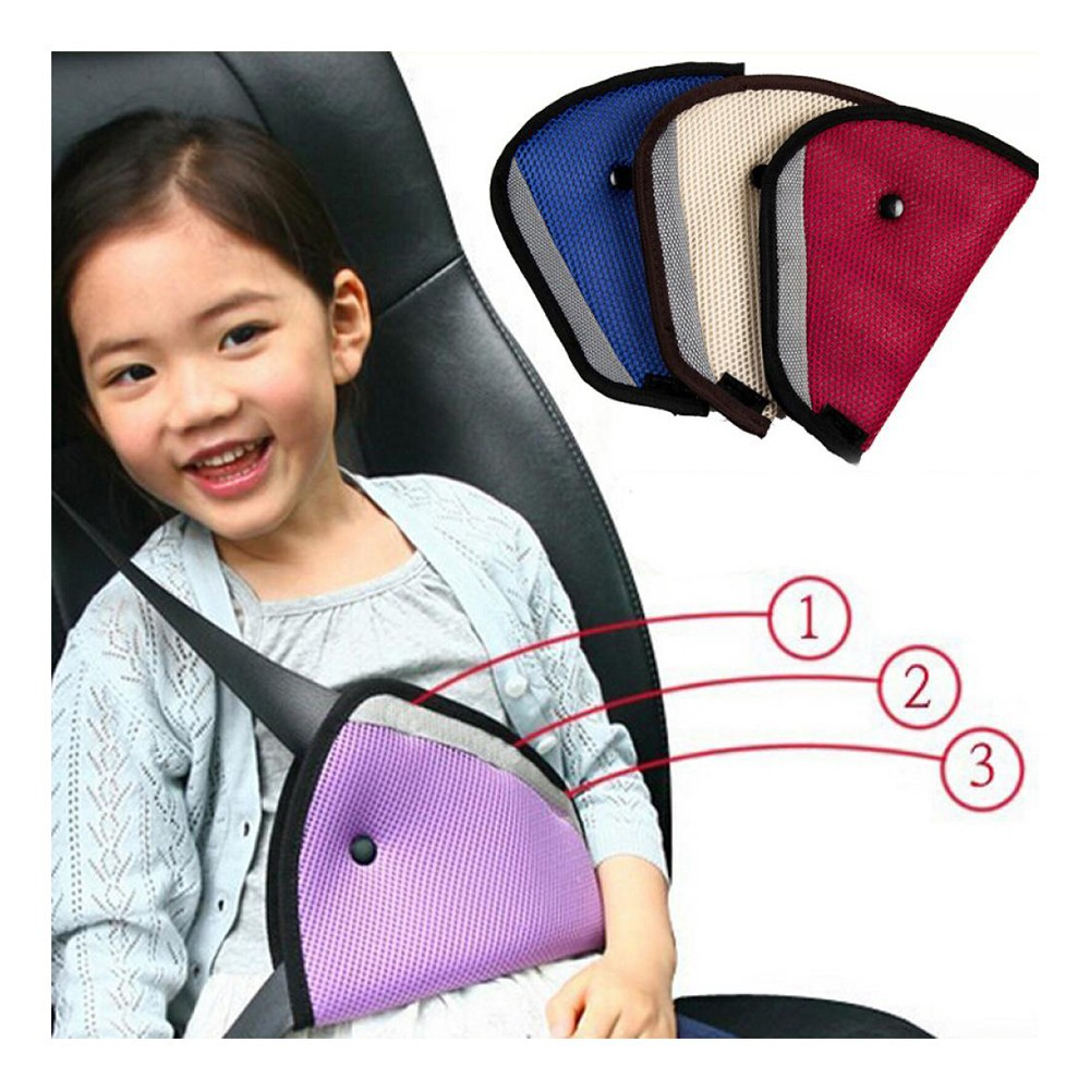 Hot Baby Child Triangle Clip Safety Protector Car Seat Belts Adjuster