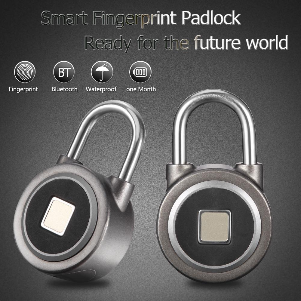 c33a89c4488b ❀MA❀Anytek P2 Smart Fingerprint Lock Waterproof Bluetooth Phone APP Keyless  Anti-theft Padlock