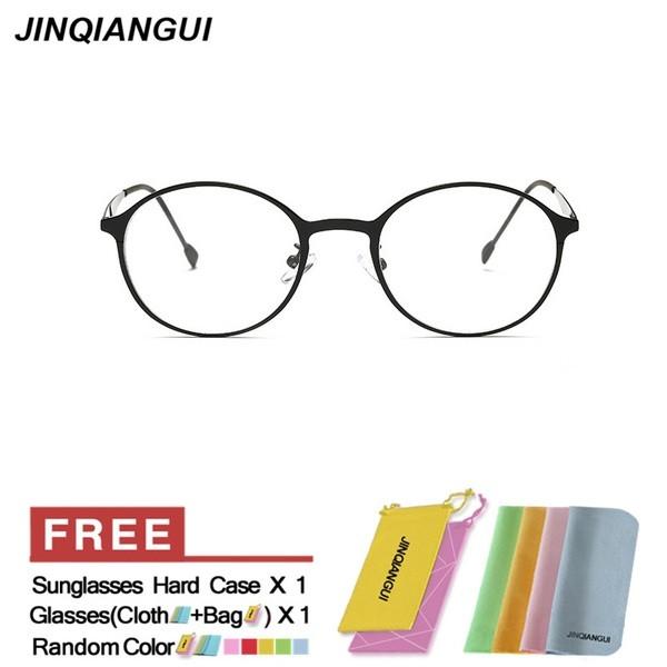 7992200a5a7 SECG Cute Round Optical Glasses Frame Soft Flexible Silicone Kids Glasses  Childr