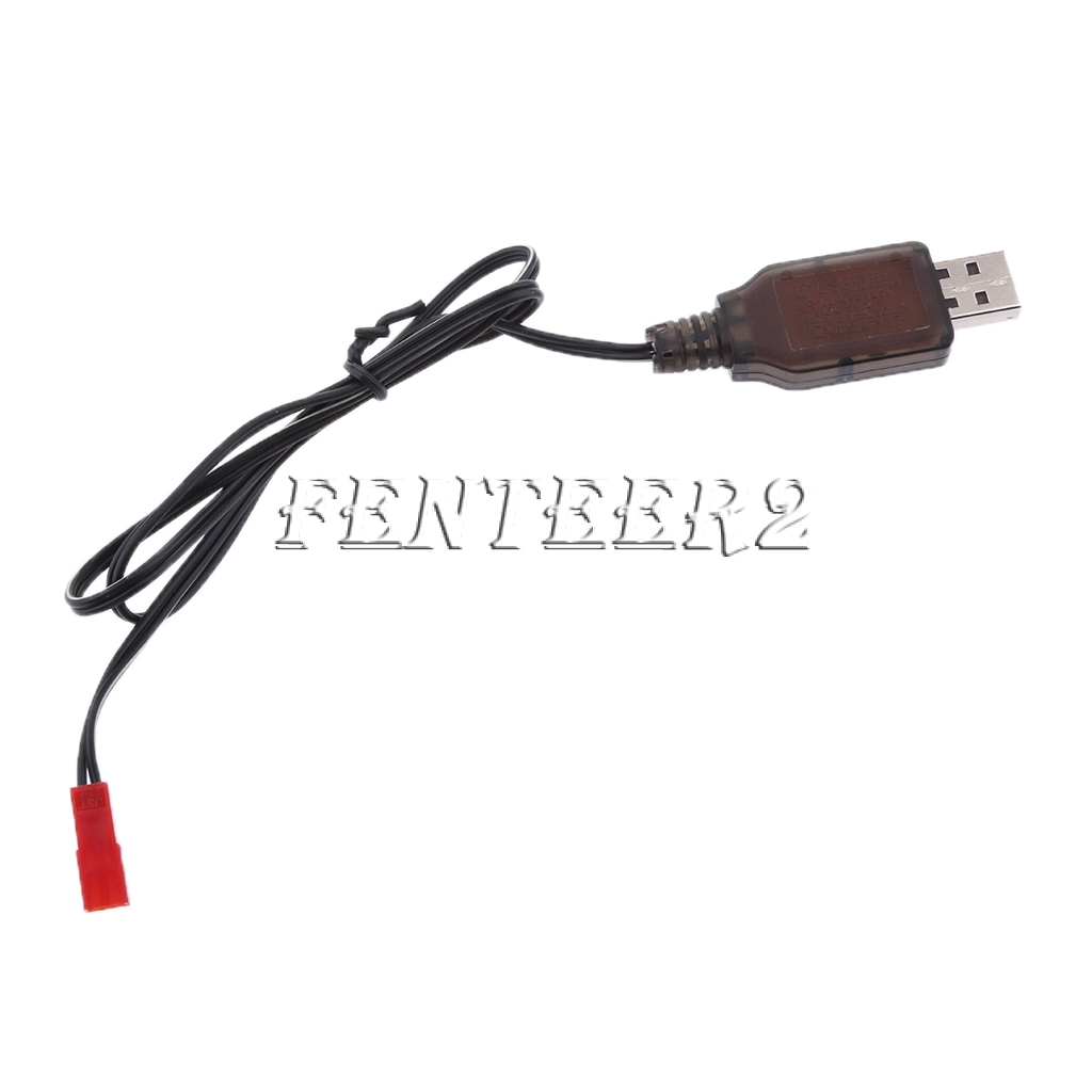 Premium 6V USB To EL-2P NI-MH NI-Cd Battery Charger Cable for RC Drone