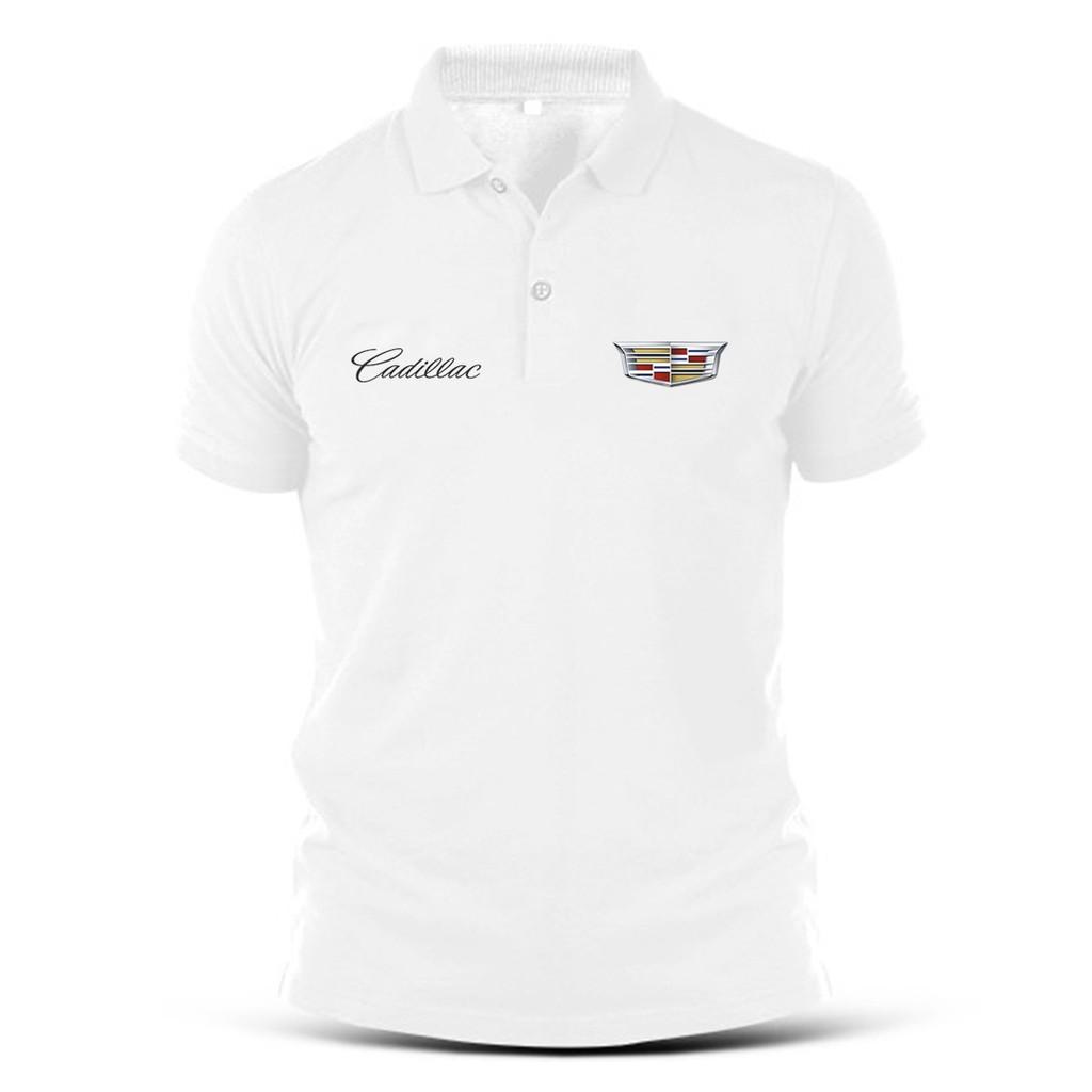 Cadillac Racing logo Polo shirt