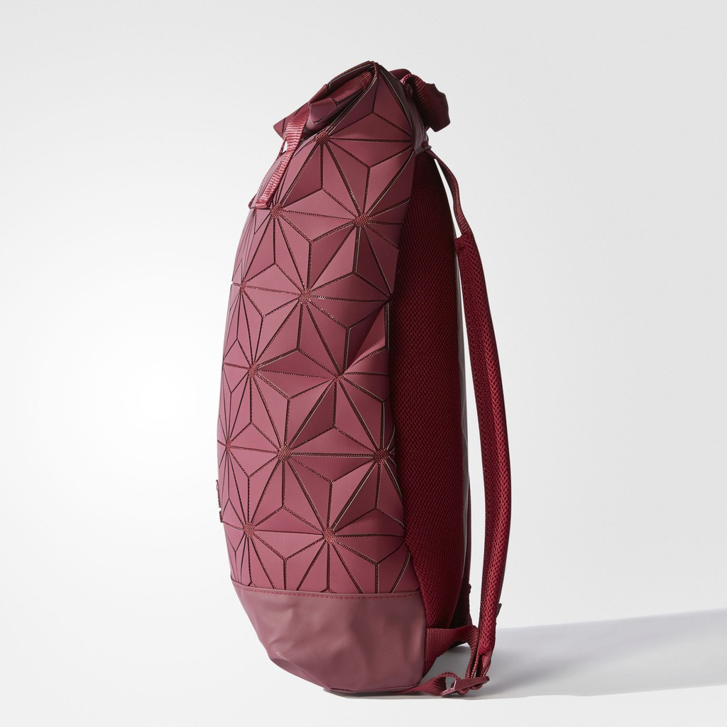 15e05f3d0348 🎒AUTHENTIC🎒Red Adidas 3D Mesh Roll Top Backpack Issey Miyake Bag