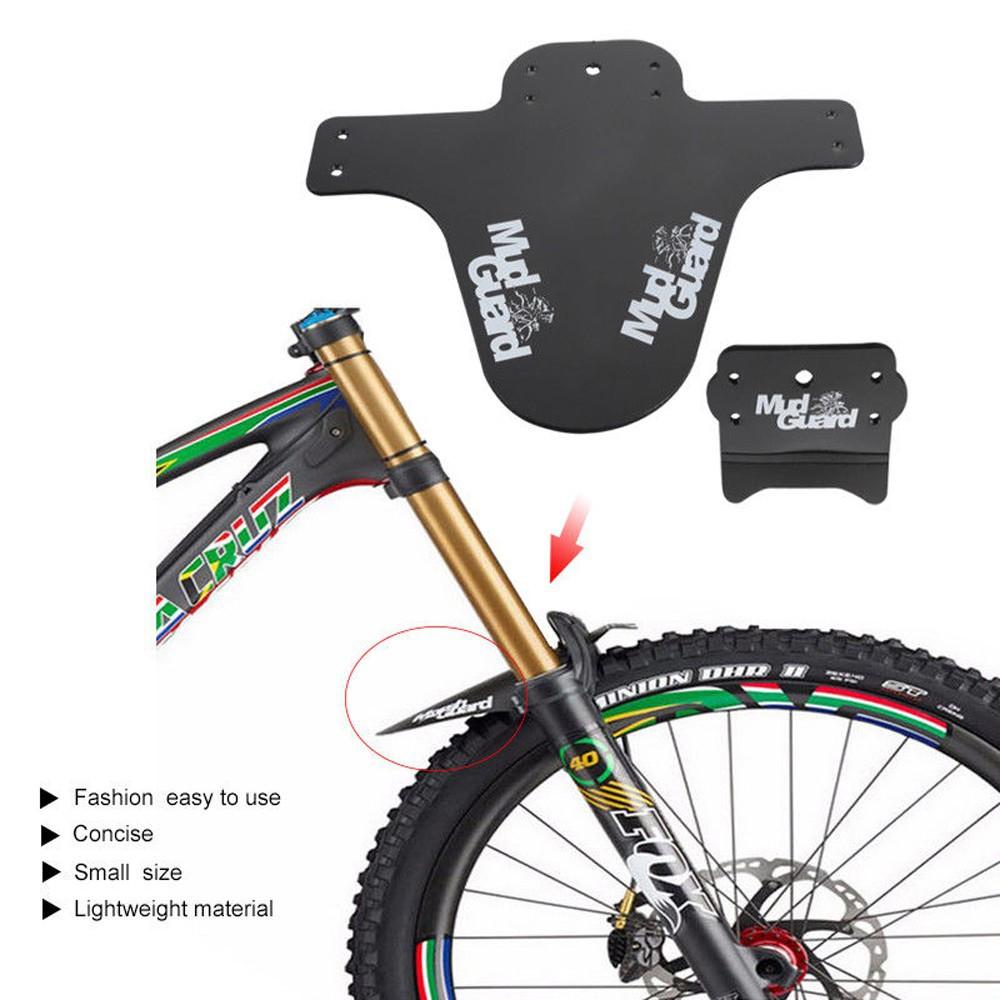 New 1 Set MTB Mountain Bike Front Bicycle Fenders Lightweight Mudguard Mud Guard