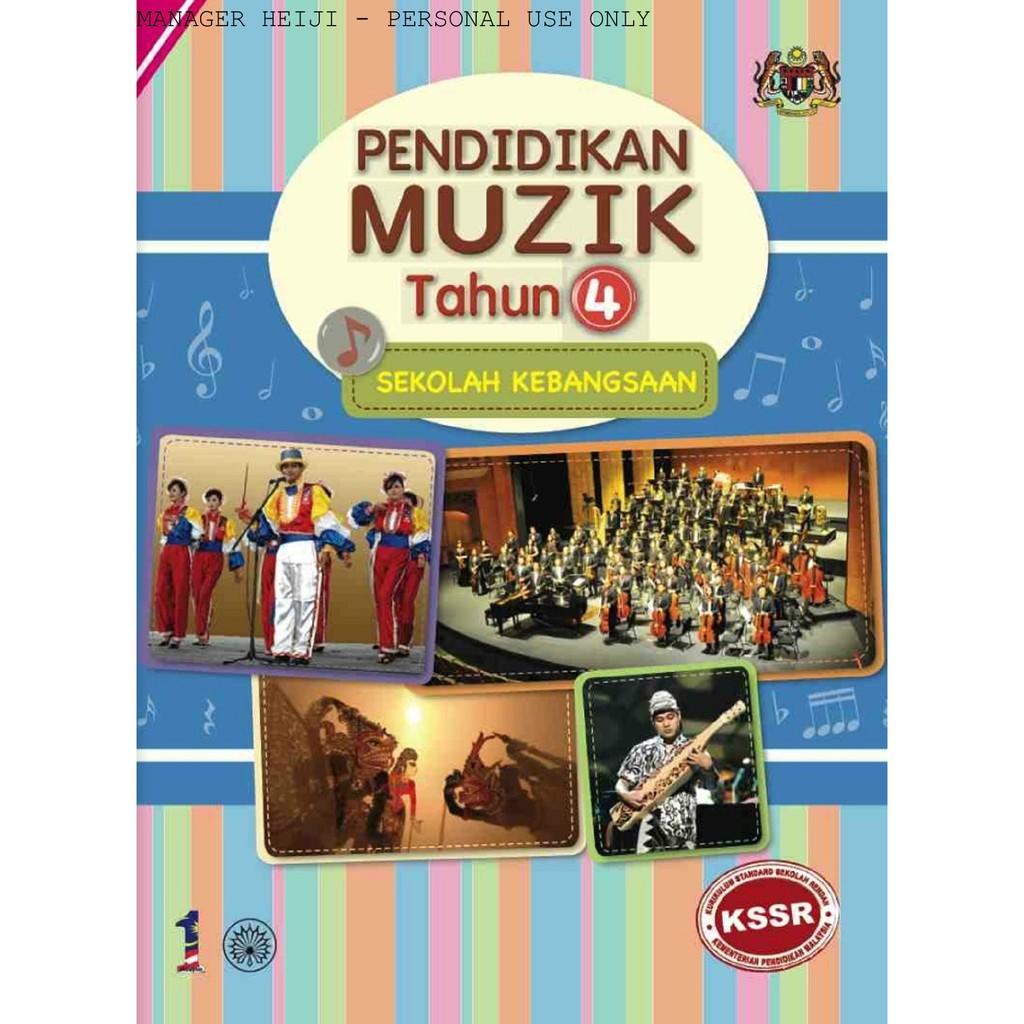 Buku Teks Pendidikan Muzik Sk Tahun 4 Shopee Singapore