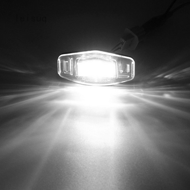 Leisuq LED License Plate Light Direct Fit For Acura TL TSX