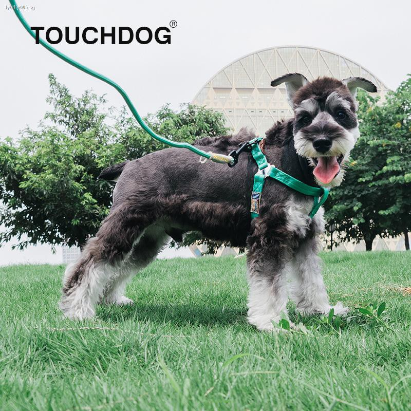 Fast Delivery Touchdog It Dog Leash Chain Chest Small Vest Type Large Rope Pet Products Shopee Singapore