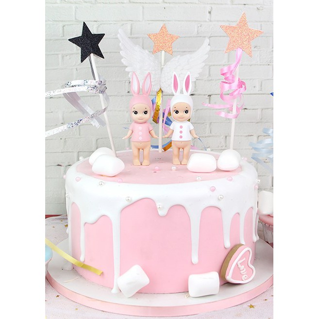 Awesome Cake Decoration Angel Design Cake Baby Cake Toppers Shopee Singapore Birthday Cards Printable Nowaargucafe Filternl