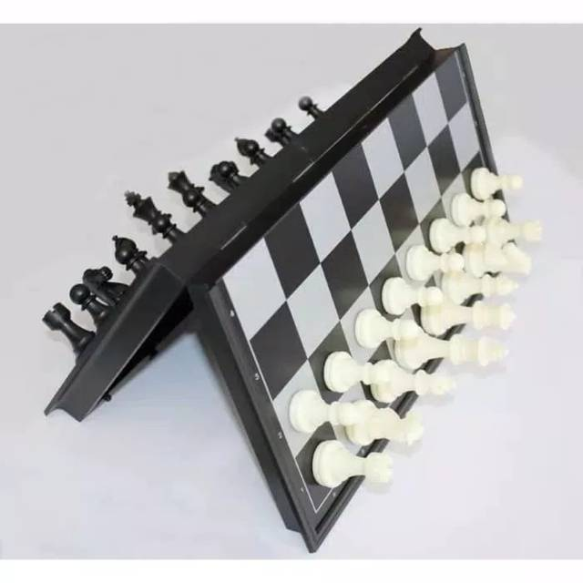 Magnetic Chess Board Mini Educational Toys Magnetic Chess Chess Pieces Unique Game Shopee Singapore