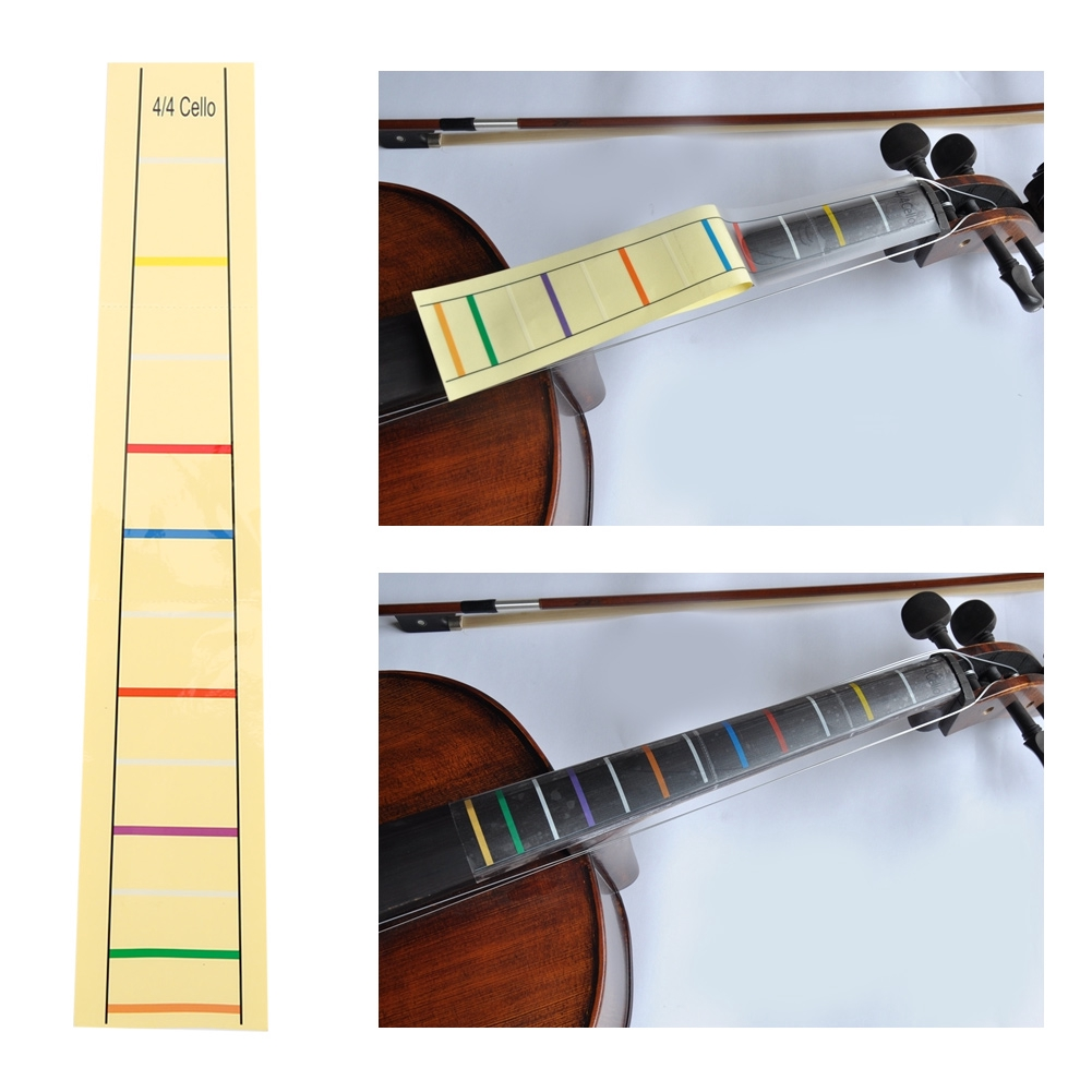 Guitar Parts & Accessories Honest 1pcs Multicolor Ukulele Fretboard Note Map Sticker Fingerboard Frets Decals For Beginner Practice