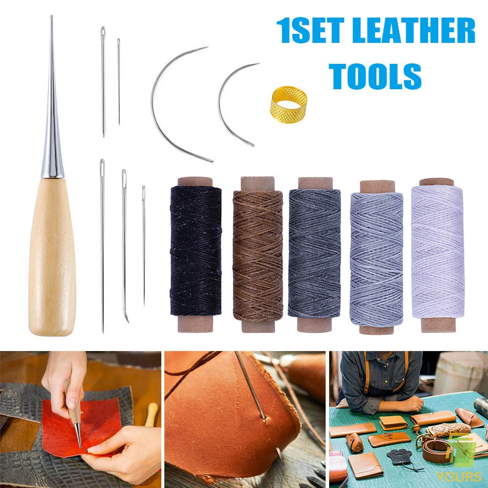 Pins Magic Craft Practical Handmade Leather Tool Stitching Needle Hole Punches