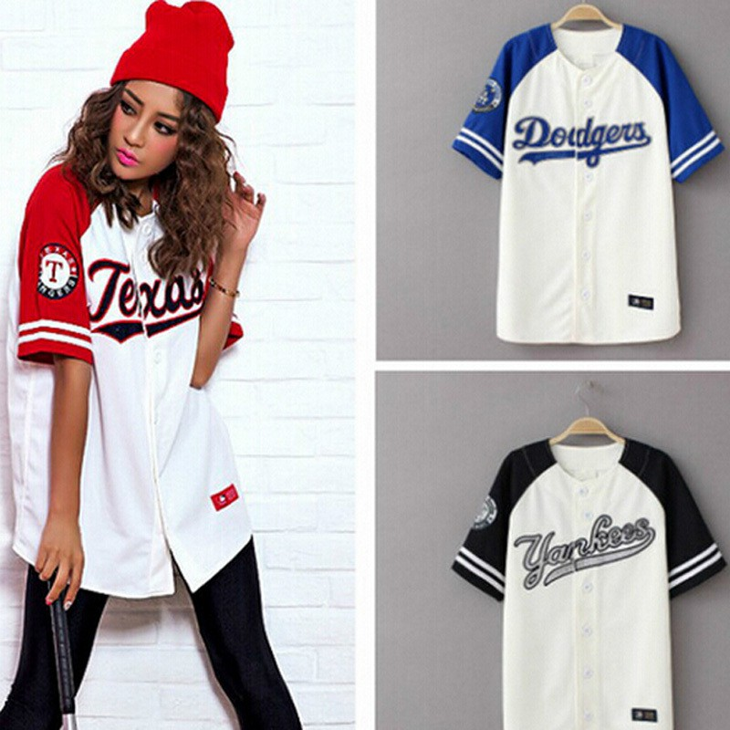 Mpower 2019 Summer Hip Hop Fashion Baseball T Shirt Korean Style