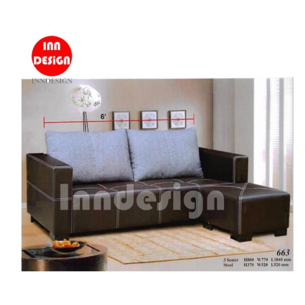 Sogo L Shape Sofa Set Sho Singapore