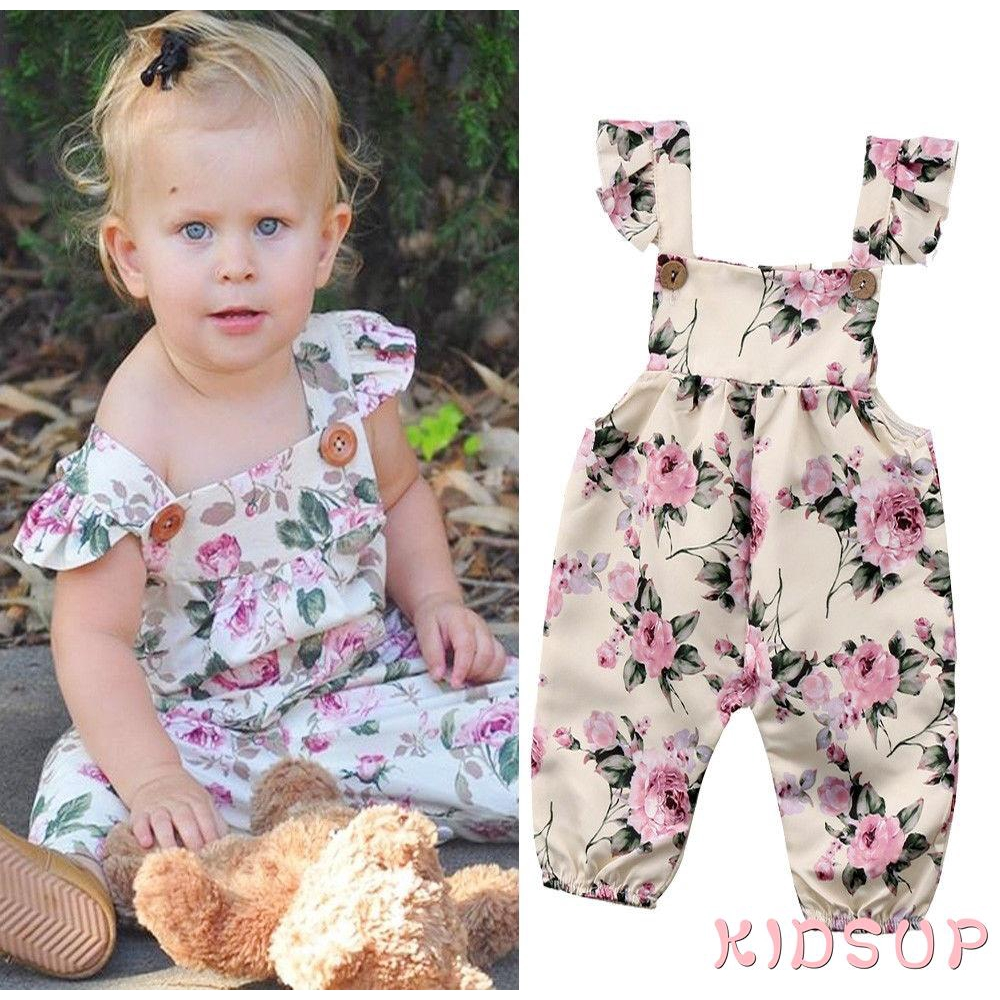 Newborn Toddler Baby Girl Stappy Lace Backless Jumpsuit Bodysuit Romper Outfit