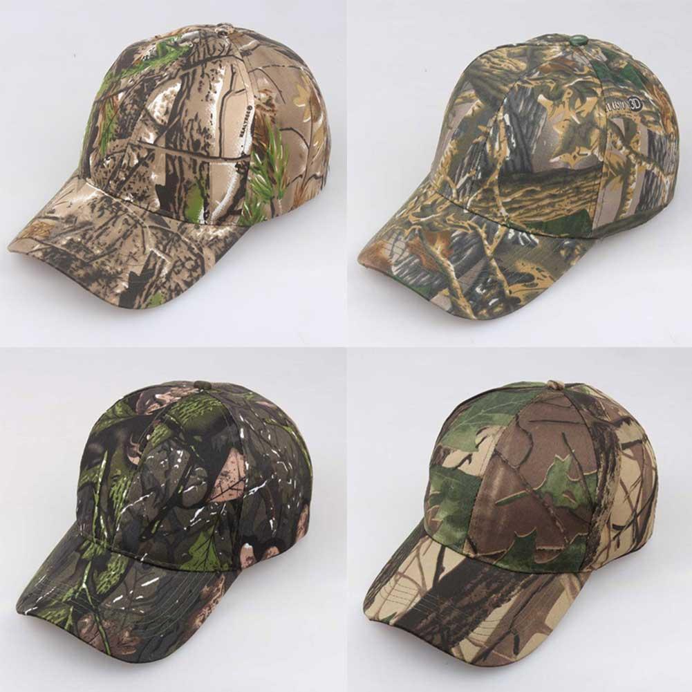 1Pc*Unisex Camouflage Adjustable Cap Camo Baseball Hunting Fishing Army Sun Hat