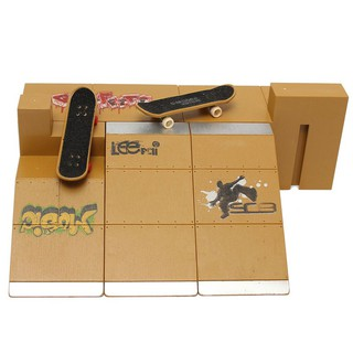 👉【NEW】Skate Park Ramp Parts for Tech Deck Fingerboard