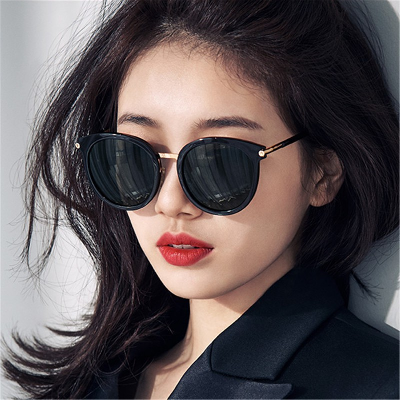 2019 New Korean Version Of The Trend Of Round Frame Sunglasses