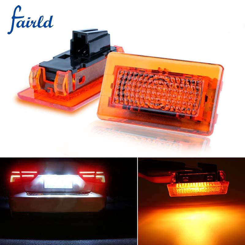 Car Door Light Red High Power Smd Accessories Replaces