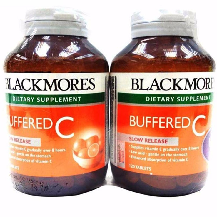 Blackmores Buffered C Tabs 2 x 120s Tablets