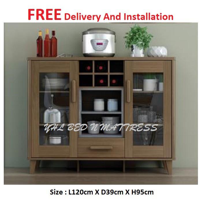Yhl Joli Display Cabinet Kitchen, Sideboard Buffet Furniture