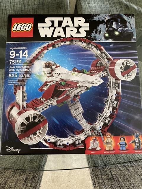 Brand NEW in protection Brown Box Lego Star Wars 75191 Jedi Starfighter Set