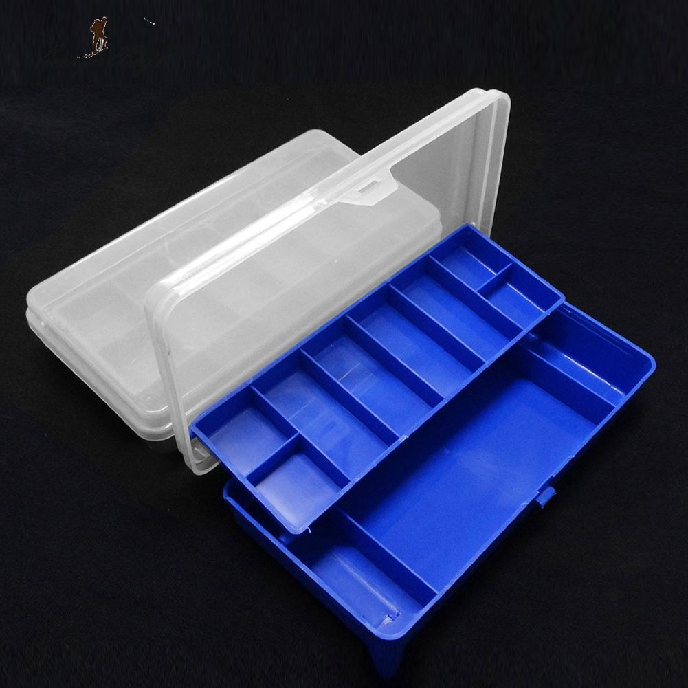 24 Compartments Fishing Tools Storage Case Box Lure Hook Bait Tackle Box durable