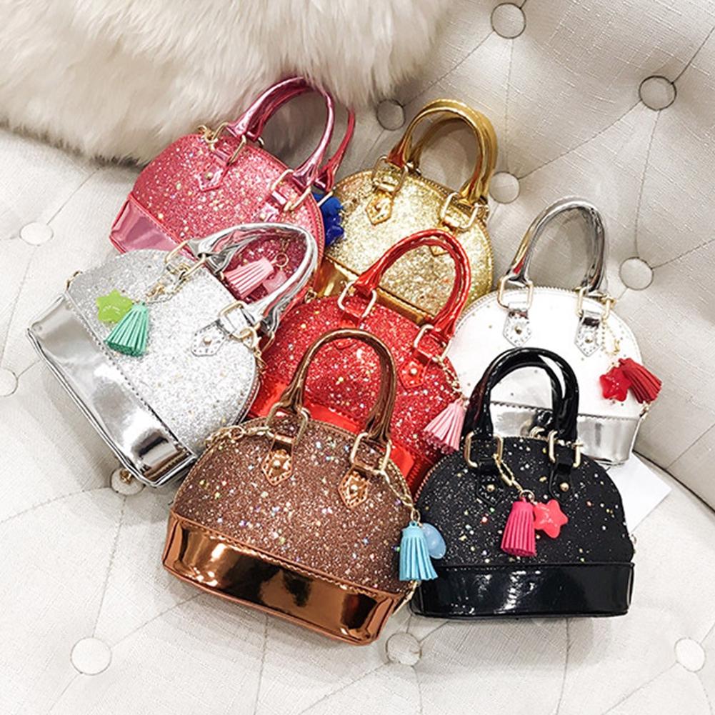 65328f6e6039 Kids Shoulder Shell Bags Children Girls Messenger Princess