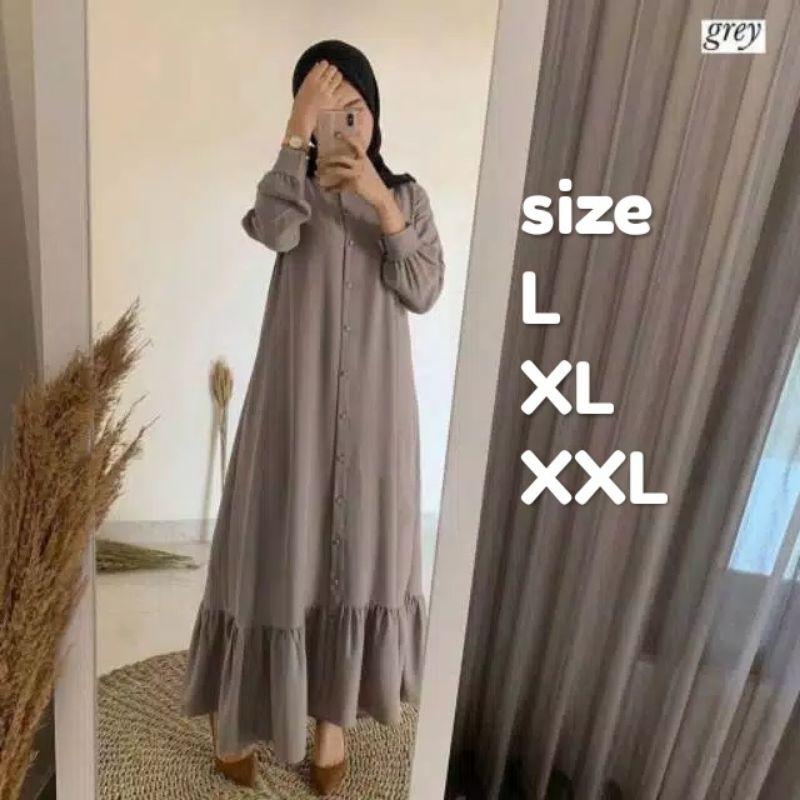Syar I Muslim Women S Robe Teenagers Sabinna Gamis Fashionable Women Width 2020 Latest Super Kek Lt Shopee Singapore