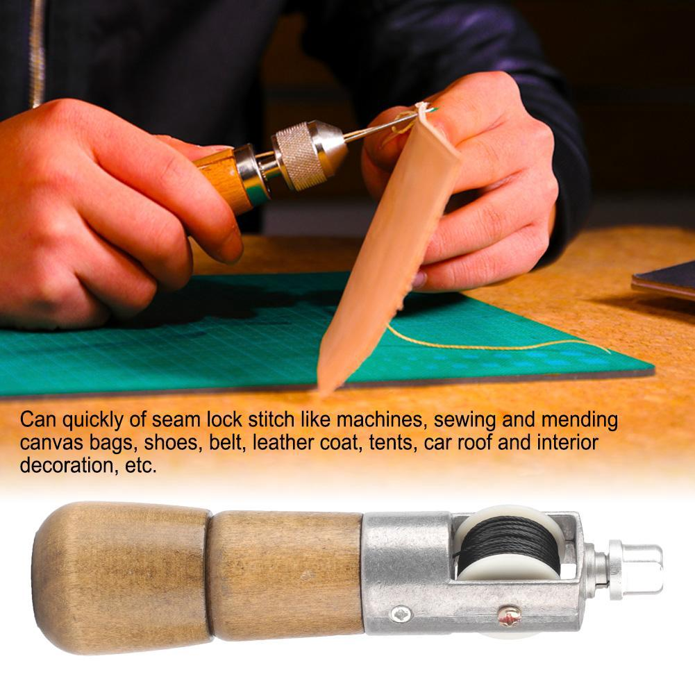 Handwork Leather Tool Lock Stitch Sewing Awl Leather Craft