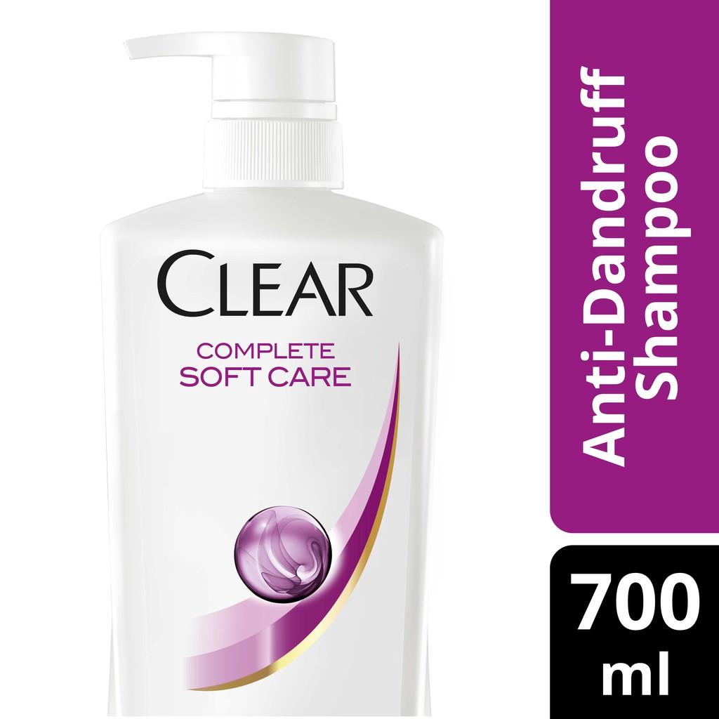 Clear Complete Soft Care Anti-Dandruff Shampoo 350 ml  25da6c3b57990