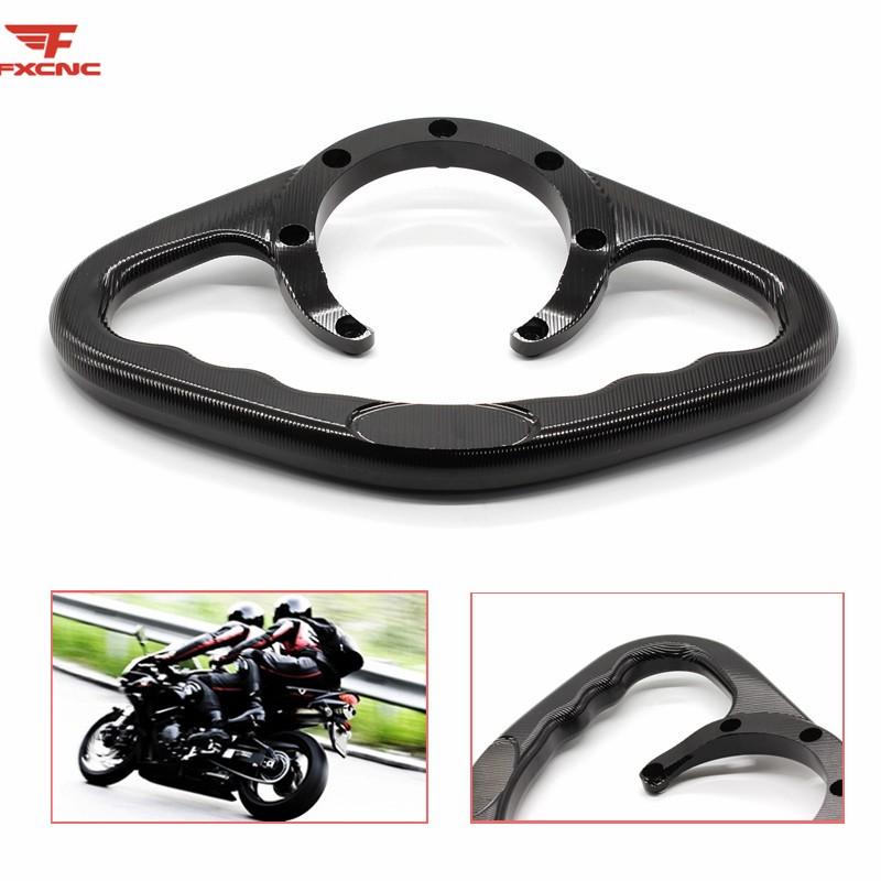 Motorcycle Passenger Hand Grip Tank Grab For Honda CBR1100XX Blackbird CBR1000RR