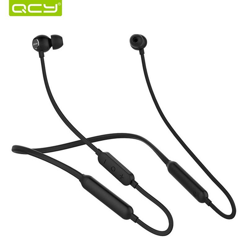 QCY L1Bluetooth Earphone Wireless Headphones Running Sports Bass Sound  Cordless Ear phone With Microphone