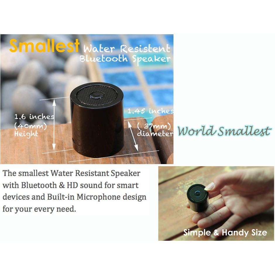 MOGICS Speaker / World Smallest Bluetooth Speaker | Shopee Singapore