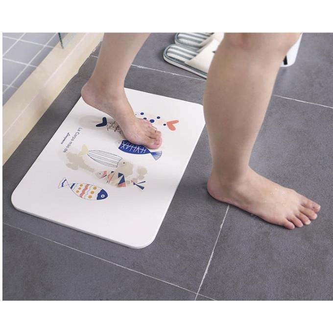 Floor Mat Door Mat Bathroom Diatomite