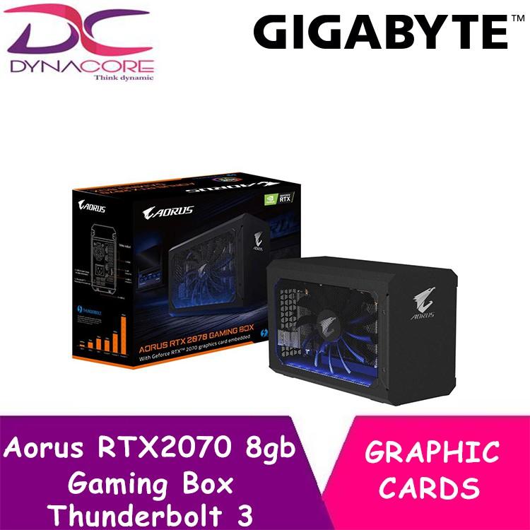 Gigabyte Aorus RTX2070 8gb Gaming Box Thunderbolt 3