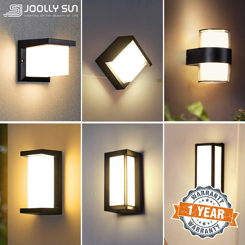Outdoor Wall Light Led Modern Lamp, Outdoor Wall Downlights Led