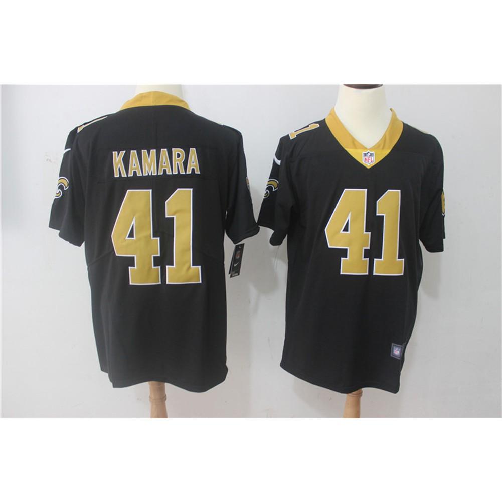 NFL New Orleans Saints Alvin Kamara  41 Black Limited Men s football jersey   bd7d62f61