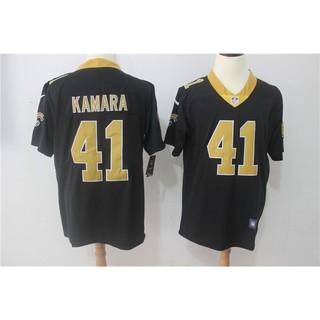 size 40 2840d dce4a NFL New Orleans Saints Alvin Kamara #41 Black Limited Men's ...