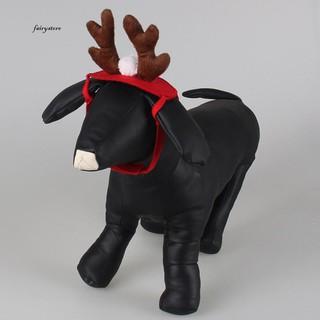 3391753fc2d Fairy&Xmas Costume Pet Dog Cat Christmas Elk Deer Antlers Hat Cap Party  Cute Headwear