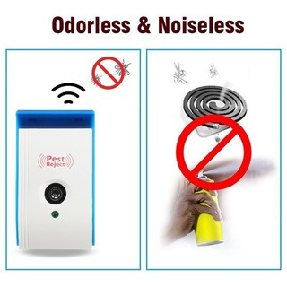 ◁CG Ultrasonic Plus Electronic Pest Rodent Control Repeller