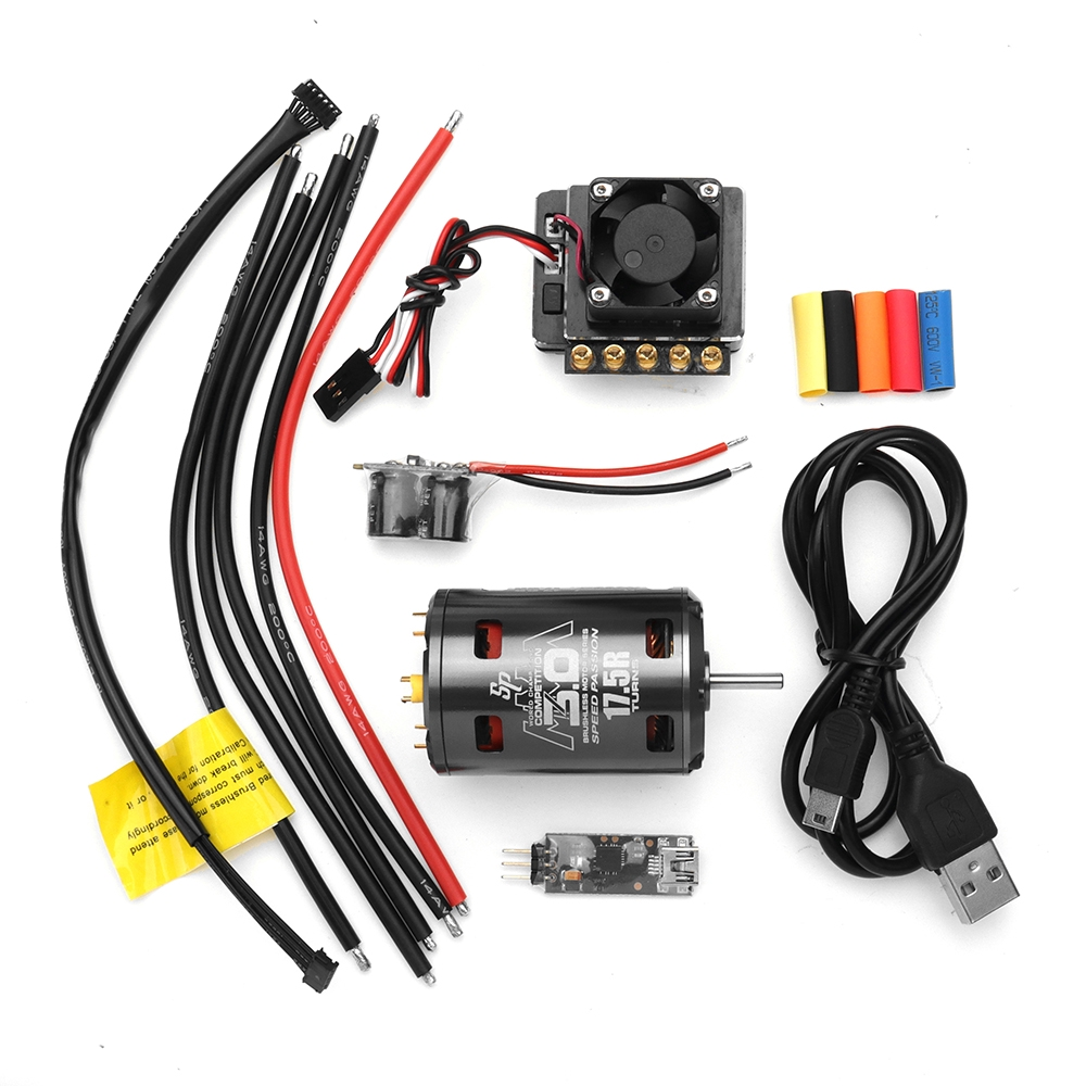 Speed Passion Competition 540 Motor Ver 3 17 5T 13 5T GT4 90A ESC 1/10 Rc  Car