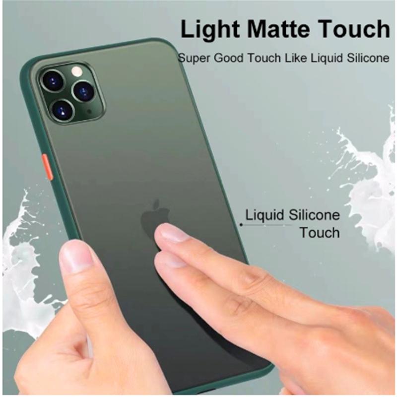case iPhone SE 2020 11 11Pro 11Pro Max luxury matte ...
