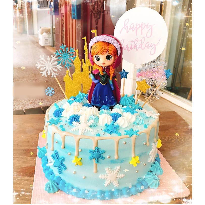 Prime Anna Toy Figurine Frozen Theme Elsa Cake Decorating Topper Birthday Cards Printable Benkemecafe Filternl