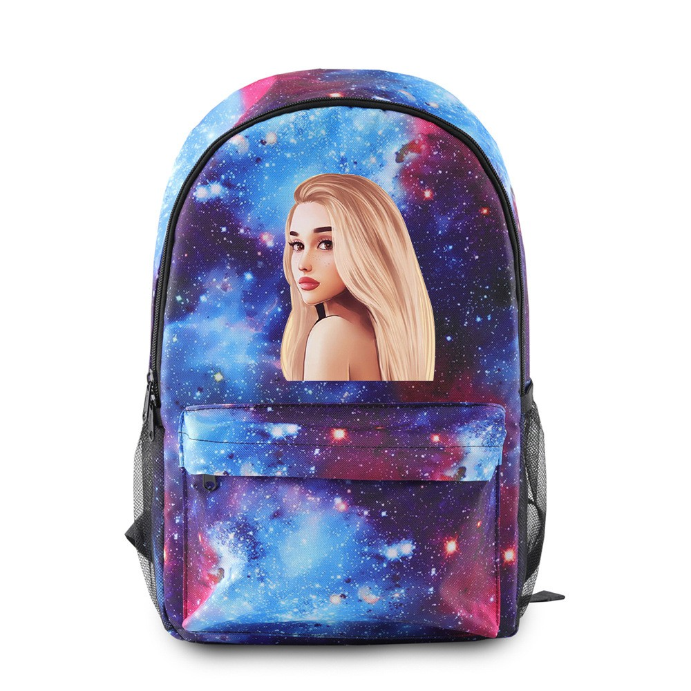 Bag Mermaid Tails Galaxy Space Pattern Backpack Daypack
