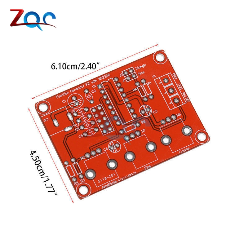 XR2206 Function Signal Generator DIY Kit Sine Triangle