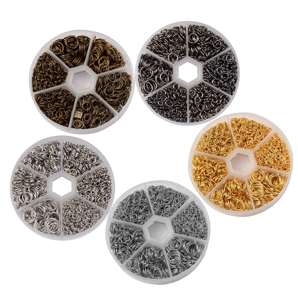 Thin Felt Circles Mixed Colours 10mm 100pcs